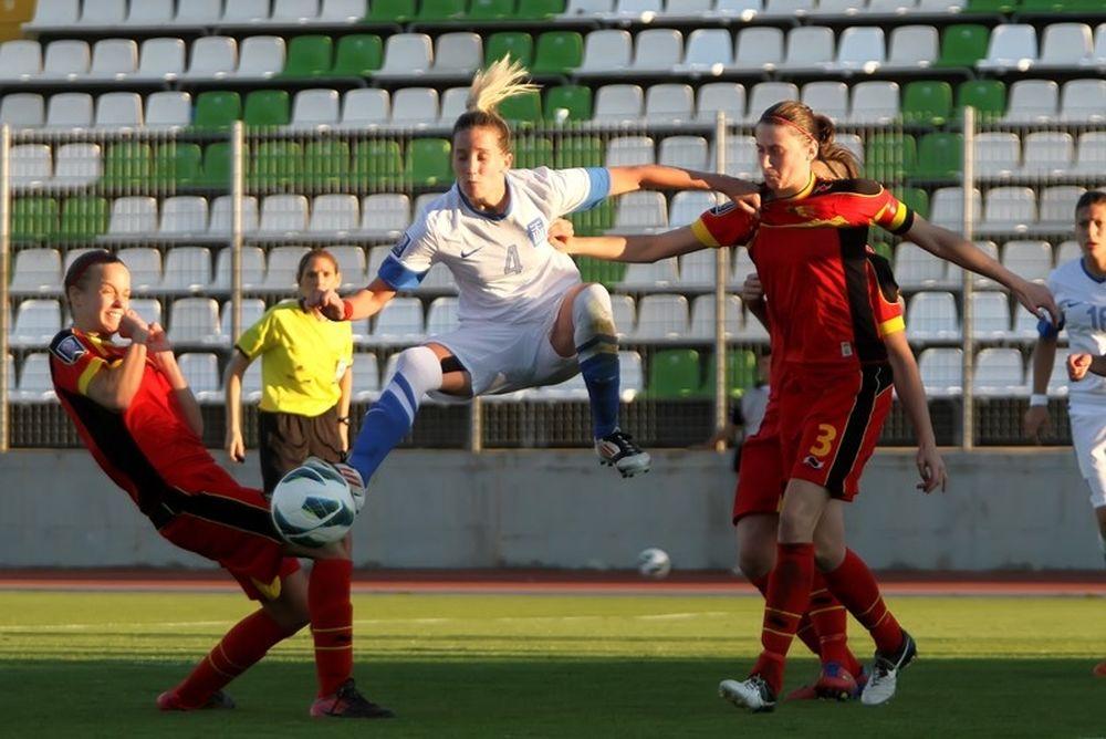 Εθνική Ποδοσφαίρου Γυναικών: «Βαριά» ήττα στην Ολλανδία