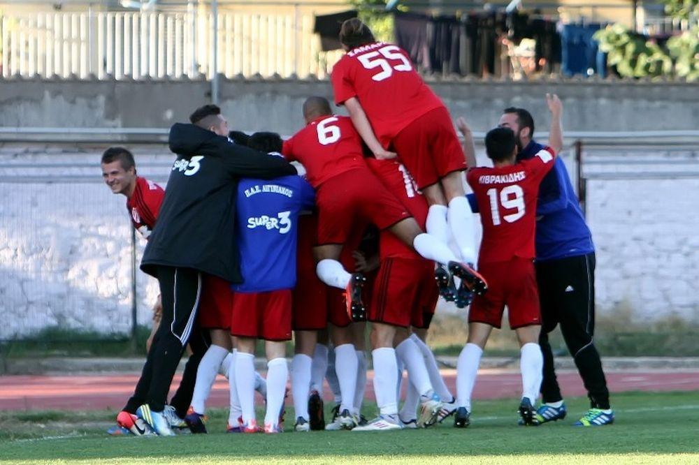 Ιστορική νίκη του Αιγινιακού, 2-0 τον Απόλλωνα