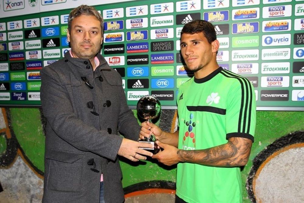 Παναθηναϊκός: Συγχαρητήρια στον… Man of the Match Καρέλη (photos)