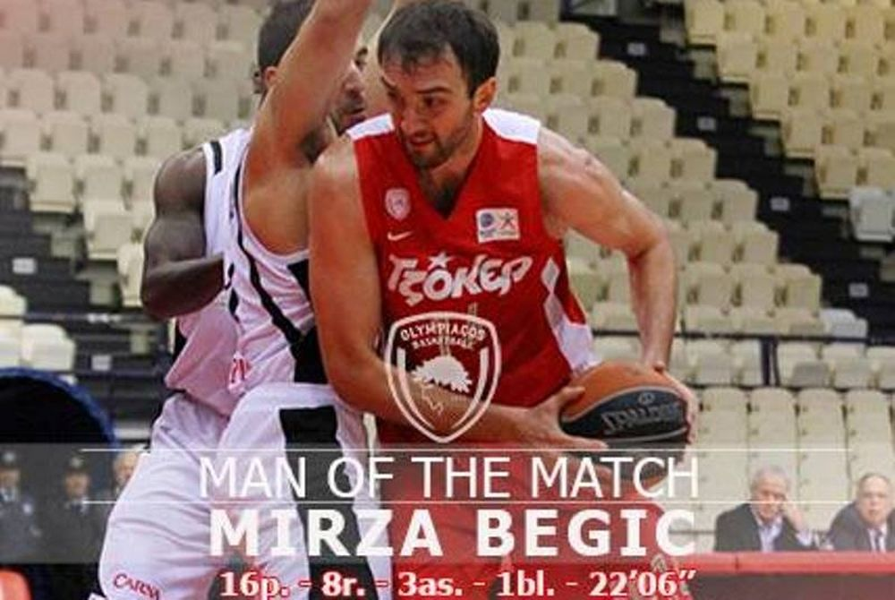 Ολυμπιακός: Man of the Match ο Μπέγκιτς (photos)
