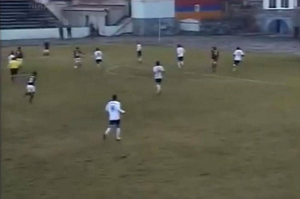 Αρμένιος παραδίδει… μαθήματα ποδοσφαίρου (video)