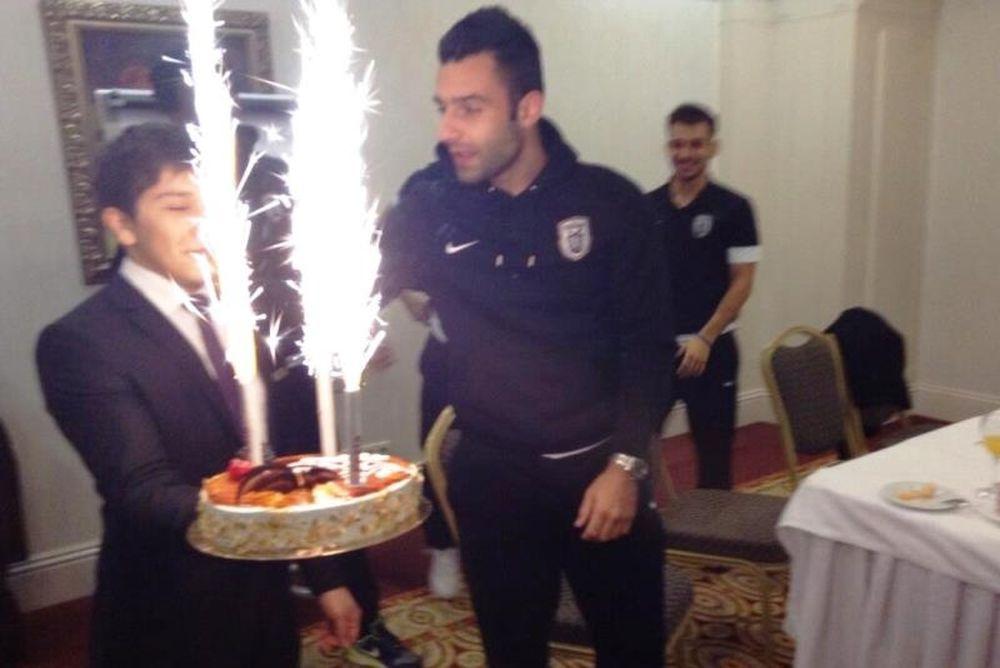 Τα γενέθλια του Τζαβέλλα στην Αστάνα (photos)