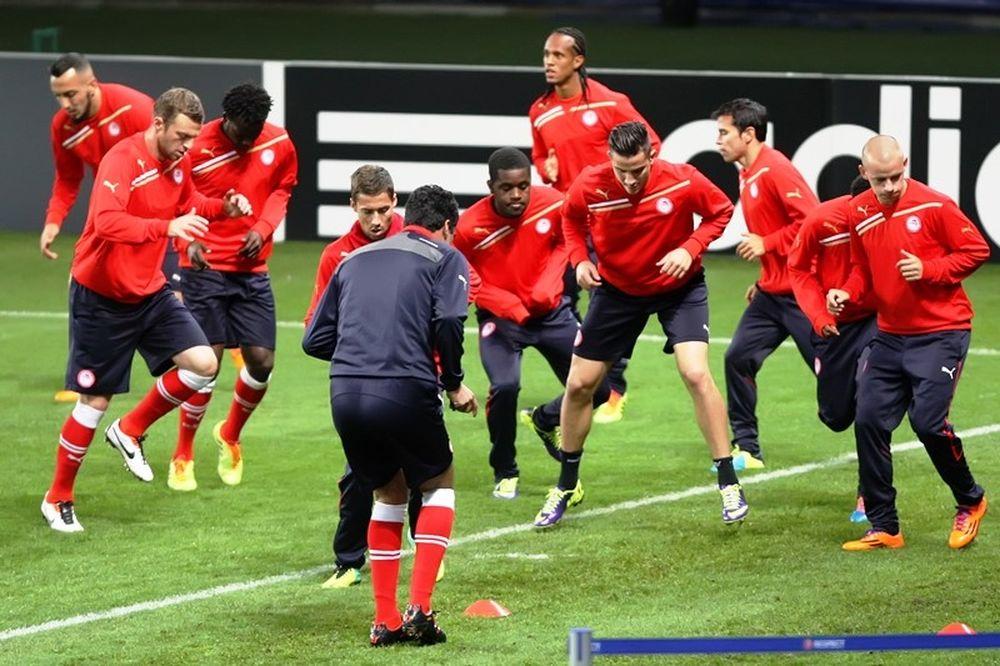 Ολυμπιακός: Τακτική και 4-4-1-1 (photos)