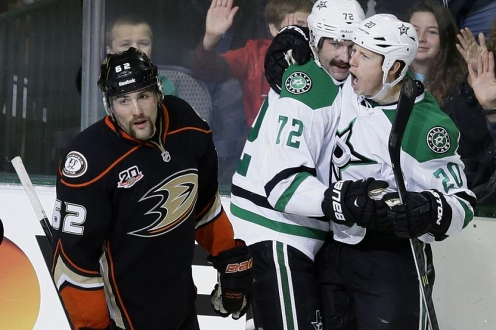 NHL: «Πυροβολικά» 53 δευτερόλεπτα για Σταρς (video)