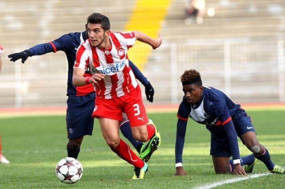 UEFA Youth League: Ισοπαλία για τους Νέους με Παρί
