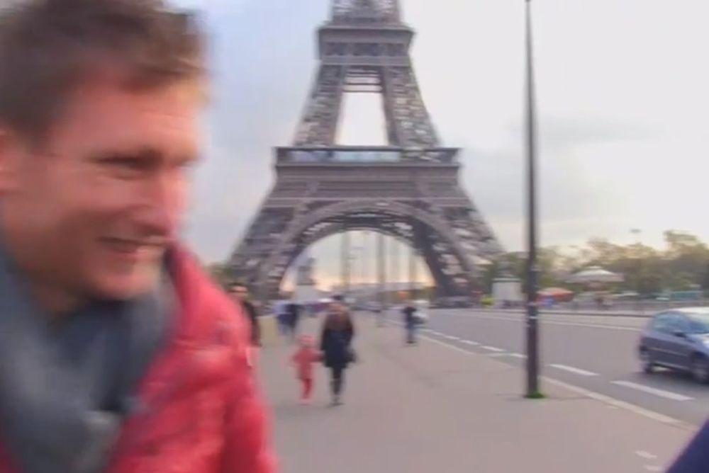 Ολυμπιακός: Ερυθρόλευκο… χρώμα στο Παρίσι (video)