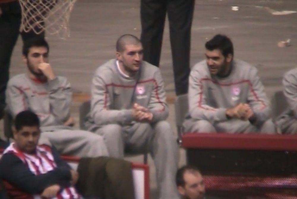 Ολυμπιακός: Στο ΣΕΦ ο Καββαδάς (video)