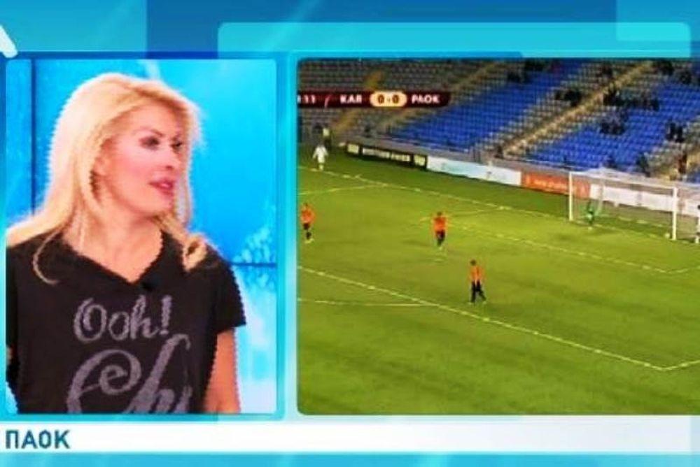 Η αθλητικογράφος… Ελένη Μενεγάκη!