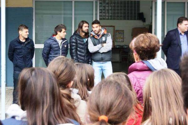 Αστέρας Τρίπολης: Επίσκεψη παικτών σε σχολείο