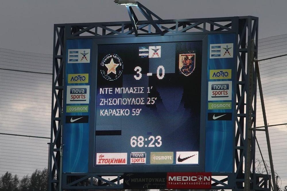 Αστέρας Τρίπολης-Παναιτωλικός 3-0: Τα γκολ του αγώνα (video)