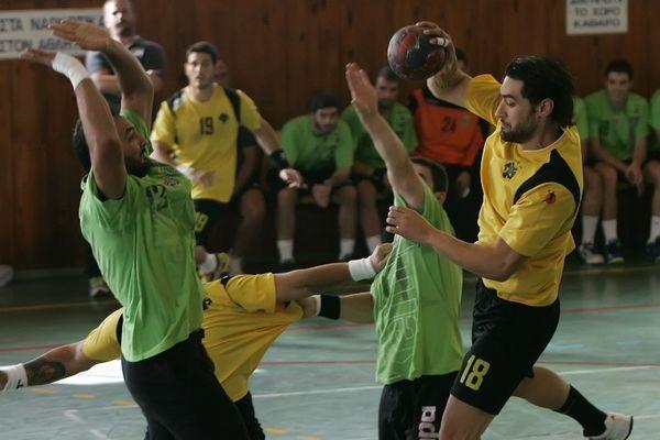 Α1 Χάντμπολ Ανδρών: Πέρασε ΠΑΟΚ και ΑΕΚ ο Διομήδης