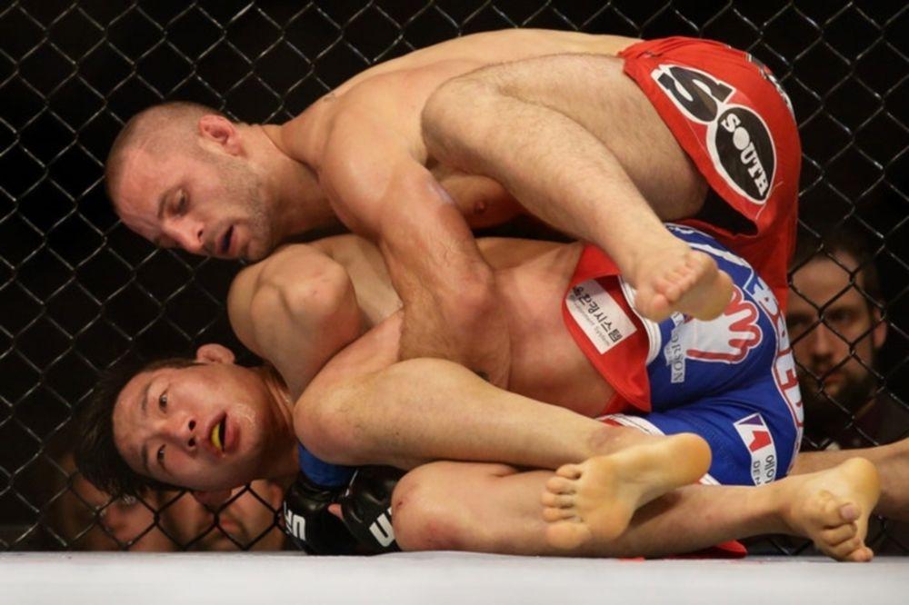 UFC Fight Night 34: Δεν κατάλαβε από… Σιγκαπούρη ο Saffiedine (GIFs)