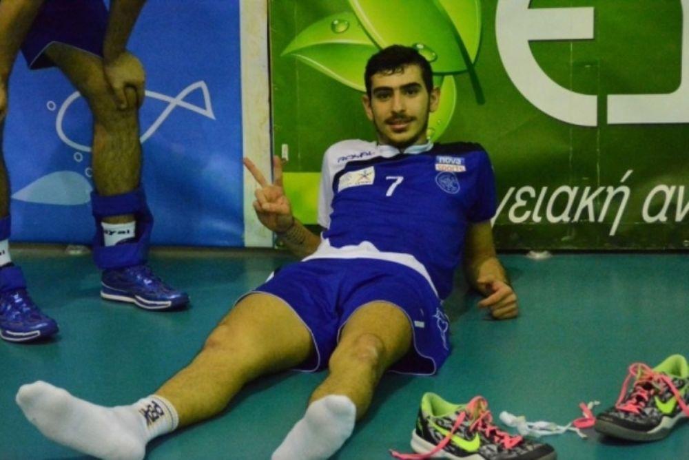 Volleyleague ΟΠΑΠ: MVP ο Πρωτοψάλτης