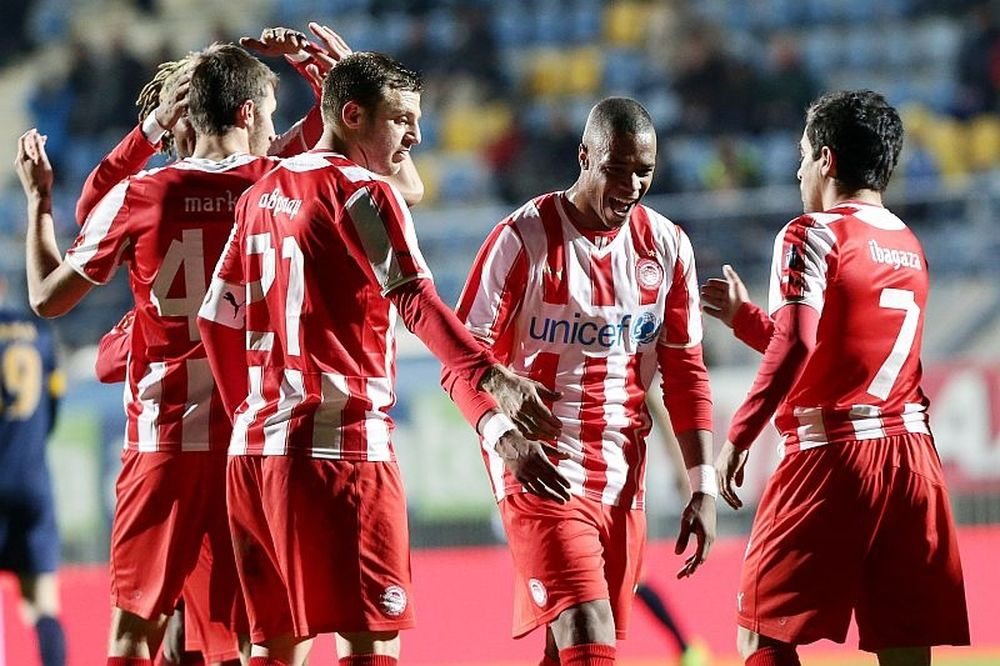 Με «σβηστές» μηχανές, 1-0 ο Ολυμπιακός στην Τρίπολη (photos)