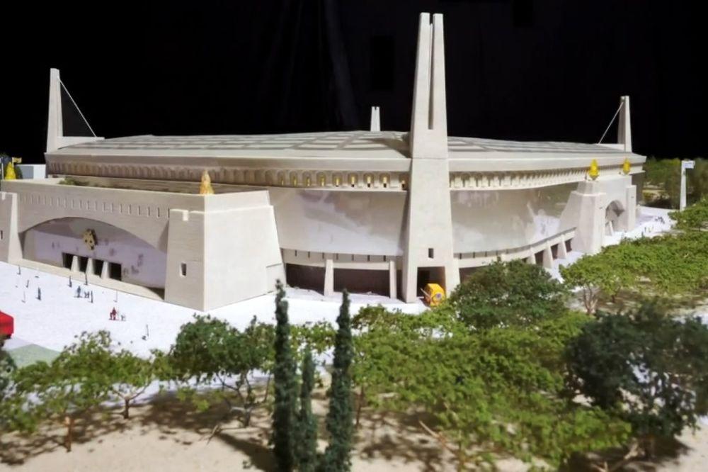 ΑΕΚ: Η κατασκευή της μακέτας της «Αγιά Σοφιάς» (video)