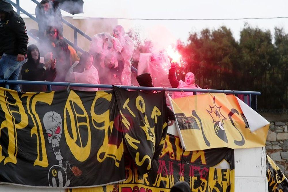 ΑΕΚ: Στα κιτρινόμαυρα η Νάξος (photos)