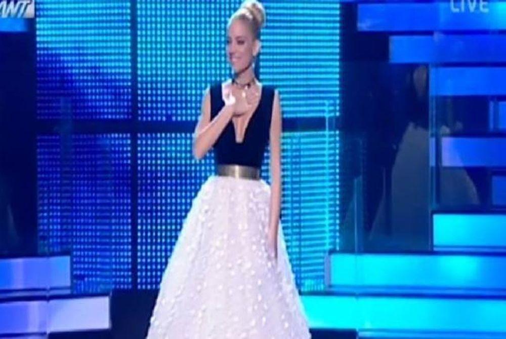 Σαν πριγκίπισσα η Δούκισσα στον ημιτελικό του «Dancing with the stars 4»