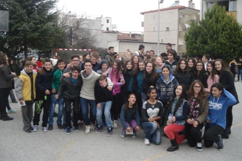 Πιερικός: Στο 7ο Γυμνάσιο Κατερίνης (photos)
