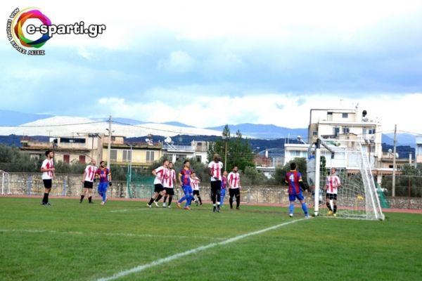 Κύπελλο ΕΠΣ Λακωνίας: Ασταμάτητη και στο Κύπελλο η Σπάρτη