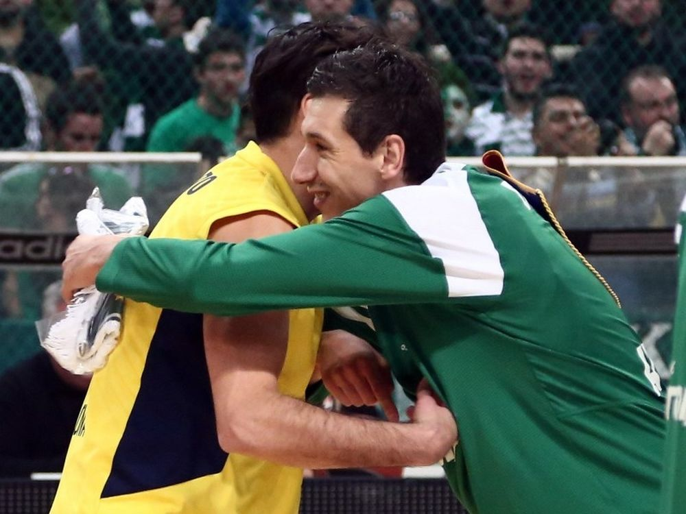 Μπαρτσελόνα: Έφτασε Λάκοβιτς με Παναθηναϊκό ο Ναβάρο (photos)