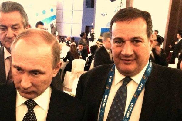 Χειμερινοί Ολυμπιακοί Αγώνες Σότσι: Τα είπαν Καπράλος - Πούτιν (photo)