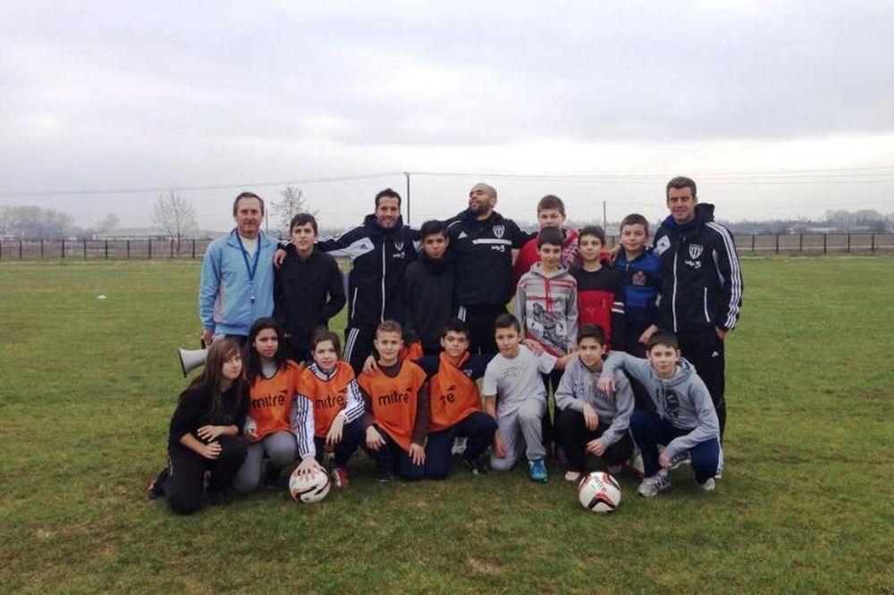 Αιγινιακός: Έπαιξε μπάλα με το Γυμνάσιο του Αιγινίου (photos)