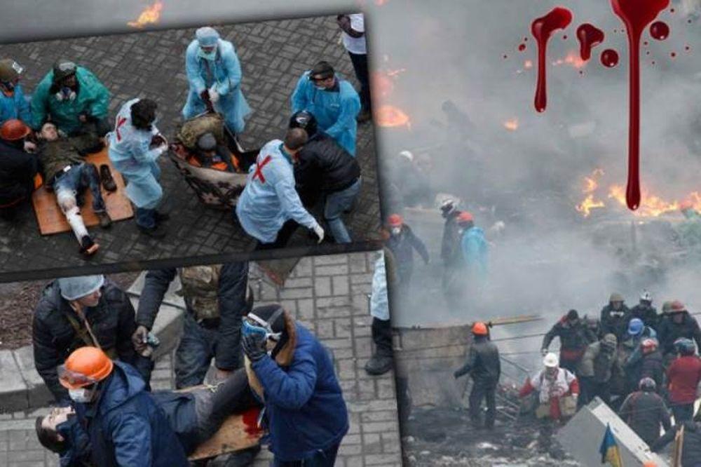 «Βάφεται» με αίμα το Κίεβο (pics+video)