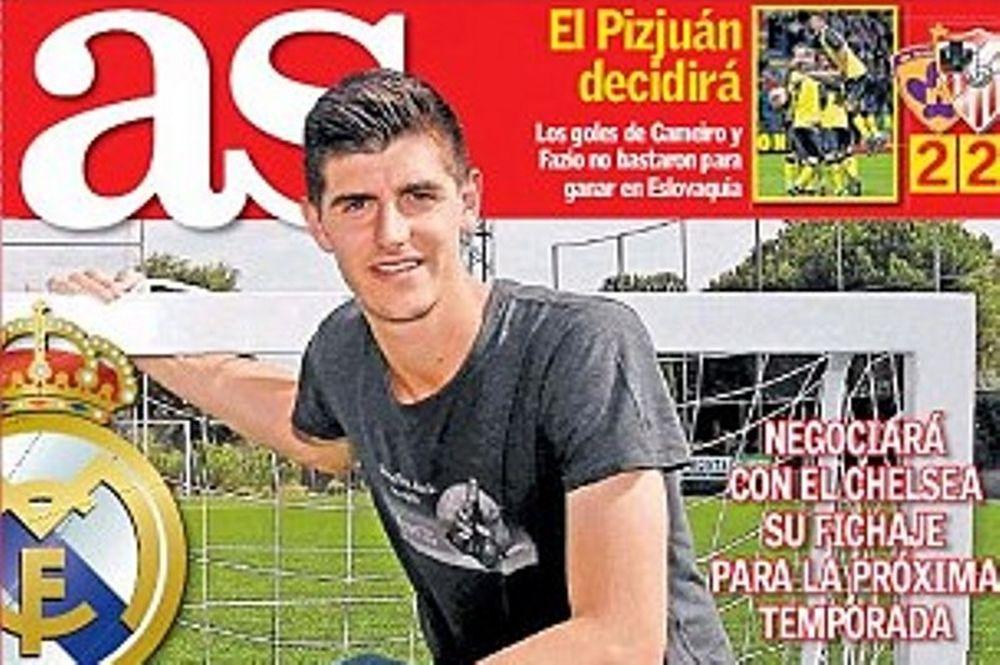 Ατλέτικο Μαδρίτης: Ο Μουρίνιο στέλνει Κουρτουά στη Ρεάλ (photo)