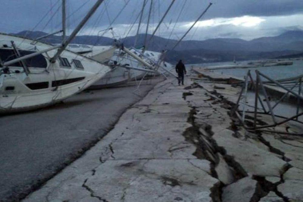 Μετατοπίστηκε το Ληξούρι λόγω των σεισμών