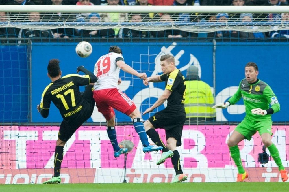 Συντριβή για Ντόρτμουντ, 3-0 από Αμβούργο (video)