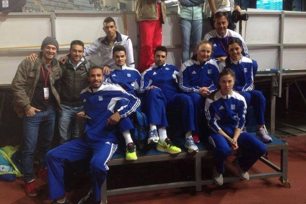 Βαλκανικοί Αγώνες Κλειστού Στίβου: Έξι χρυσά στην Κωνσταντινούπολη