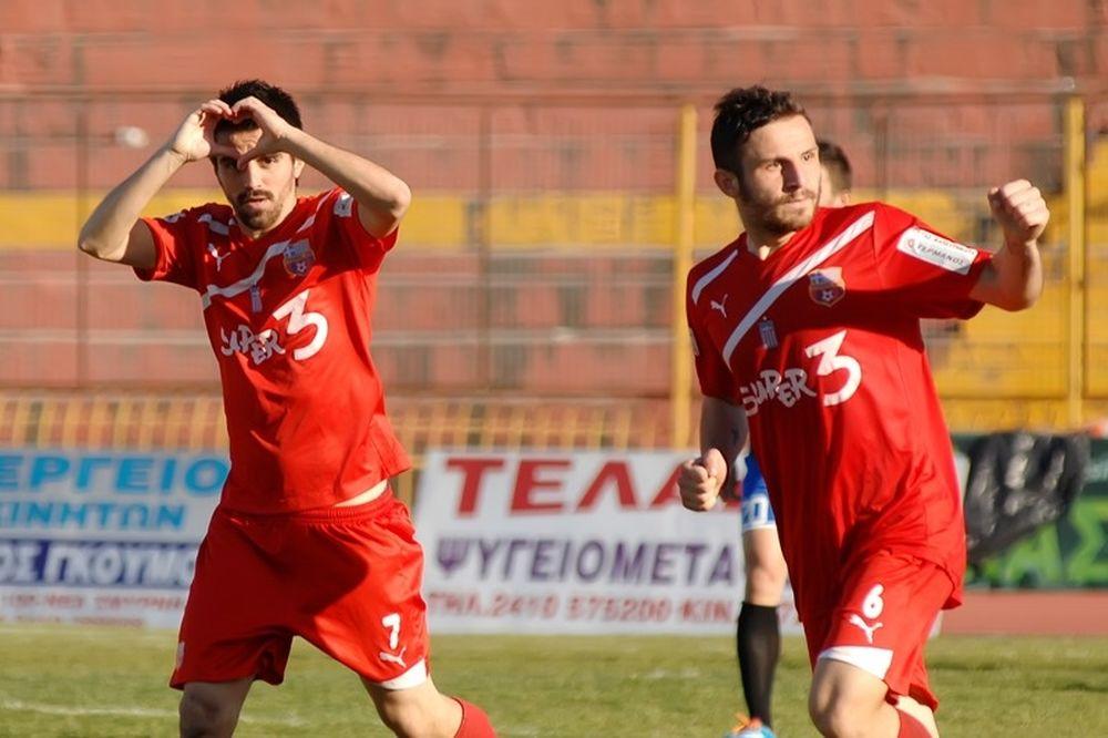 Τον... μέθυσε ο Τύρναβος, 1-0 τον Ηρακλή
