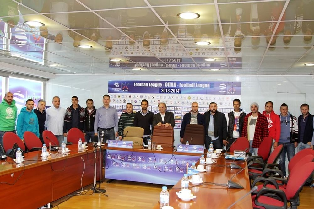 Football League: Σε καλό κλίμα η συνάντηση αρχηγών, προεδρείου