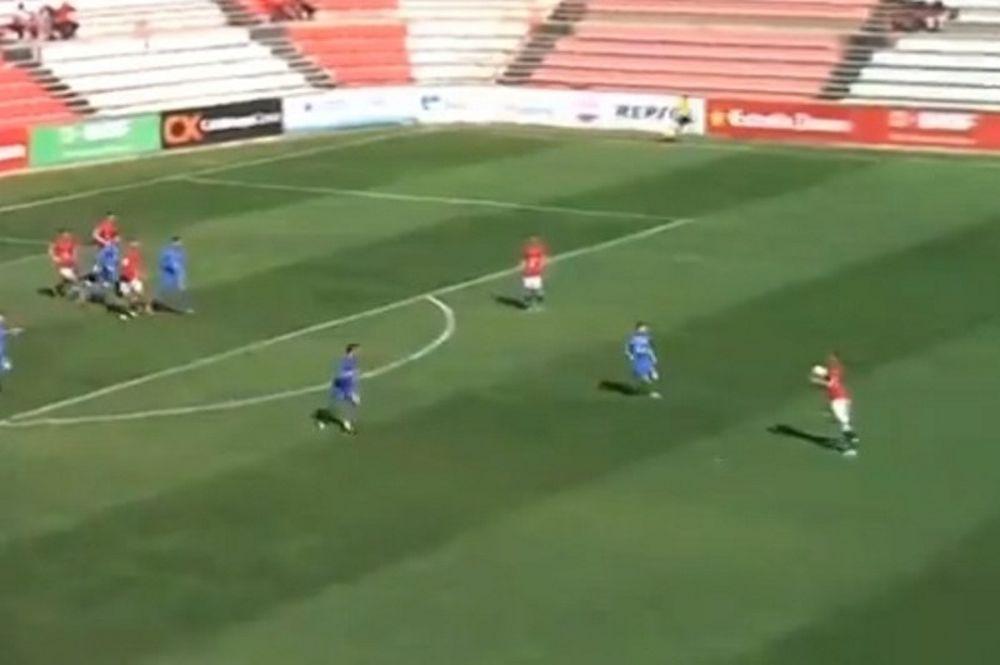 Ισπανία: Γκολ χωρίς... δισταγμό! (video)