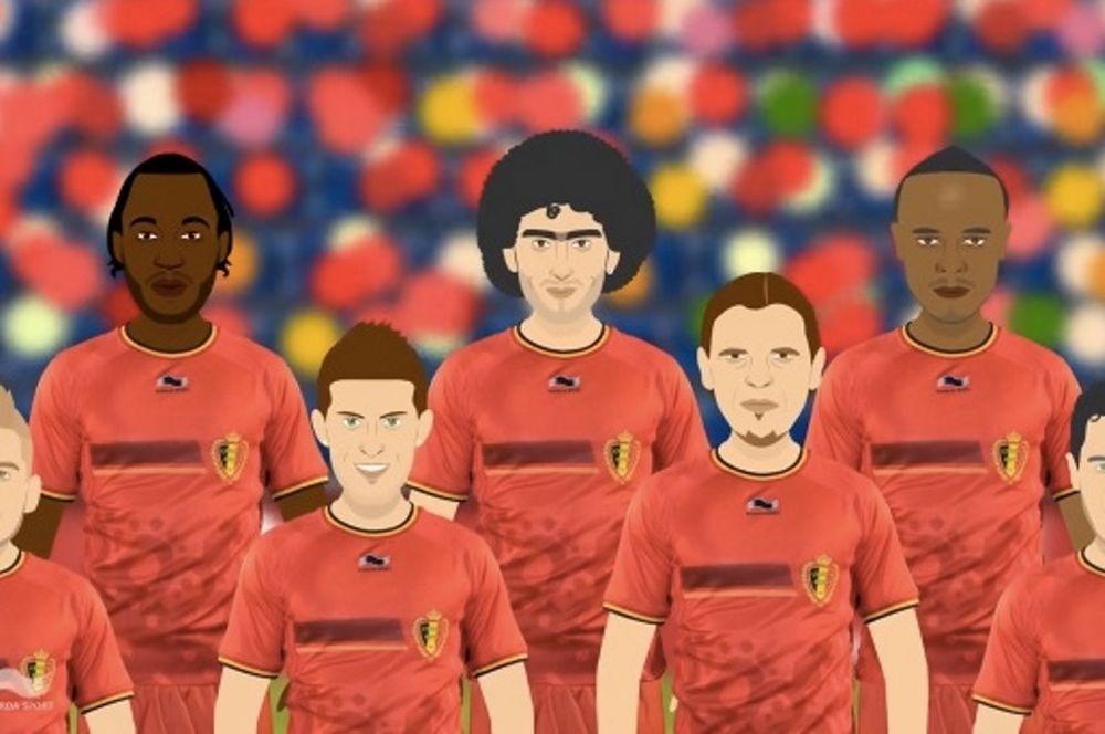 Κέβιν Μιραλάς: Kαρτούν για το... Παγκόσμιο Κύπελλο! (video)