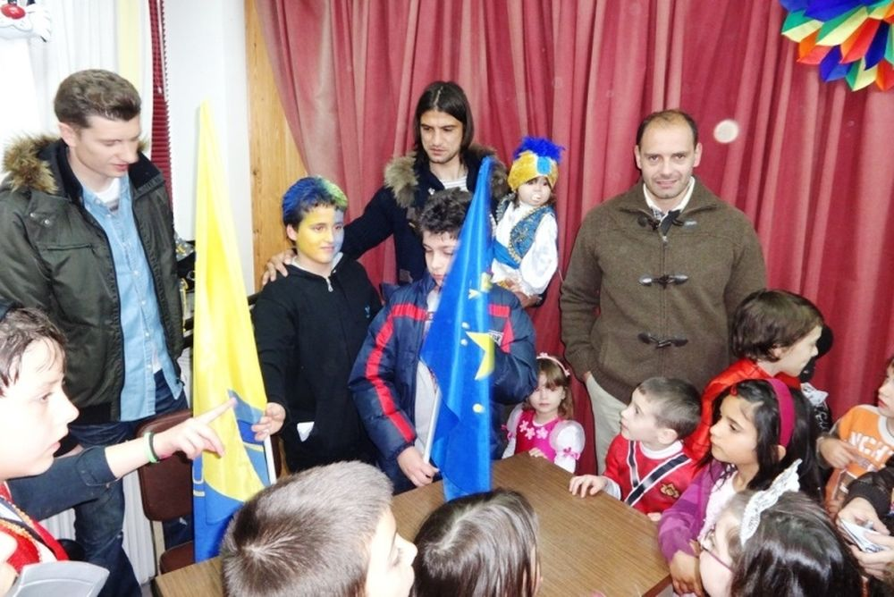 Αστέρας Τρίπολης: Επίσκεψη στο 8ο Δημοτικό Σχολείο