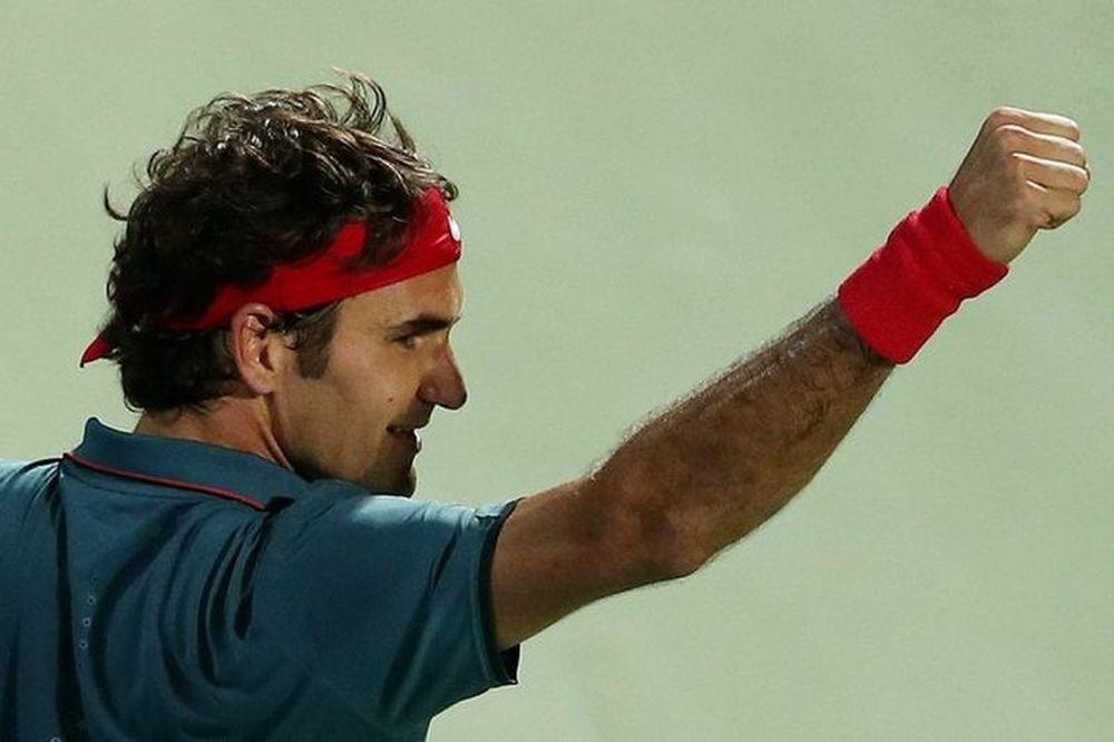 Ντουμπάι ATP: Ανατροπή και τελικός για Φέντερερ (video)