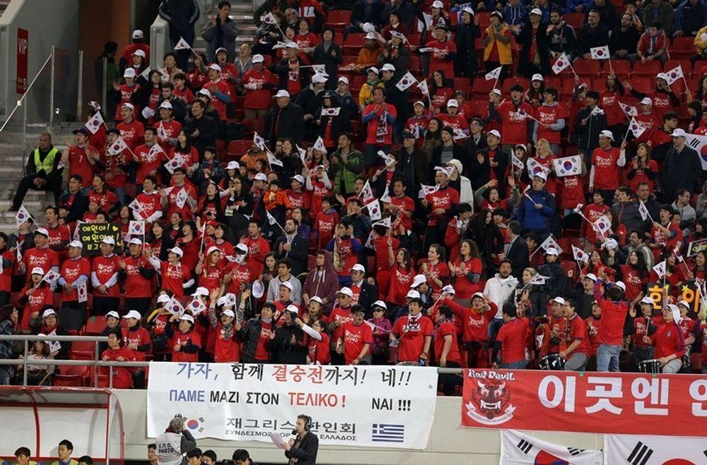 Ελλάδα - Νότια Κορέα: Μαζί και στον τελικό του Μουντιάλ! (photos)