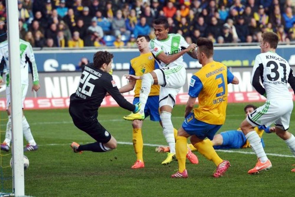 Γκέλα για Βόλφσμπουργκ, 1-1 με Μπραουνσβάιγκ