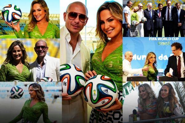 Κλαούντια Λέιτε στο Onsports: «Το τραγούδι του Μουντιάλ με J.Lo και Pitbull» (photos+videos)