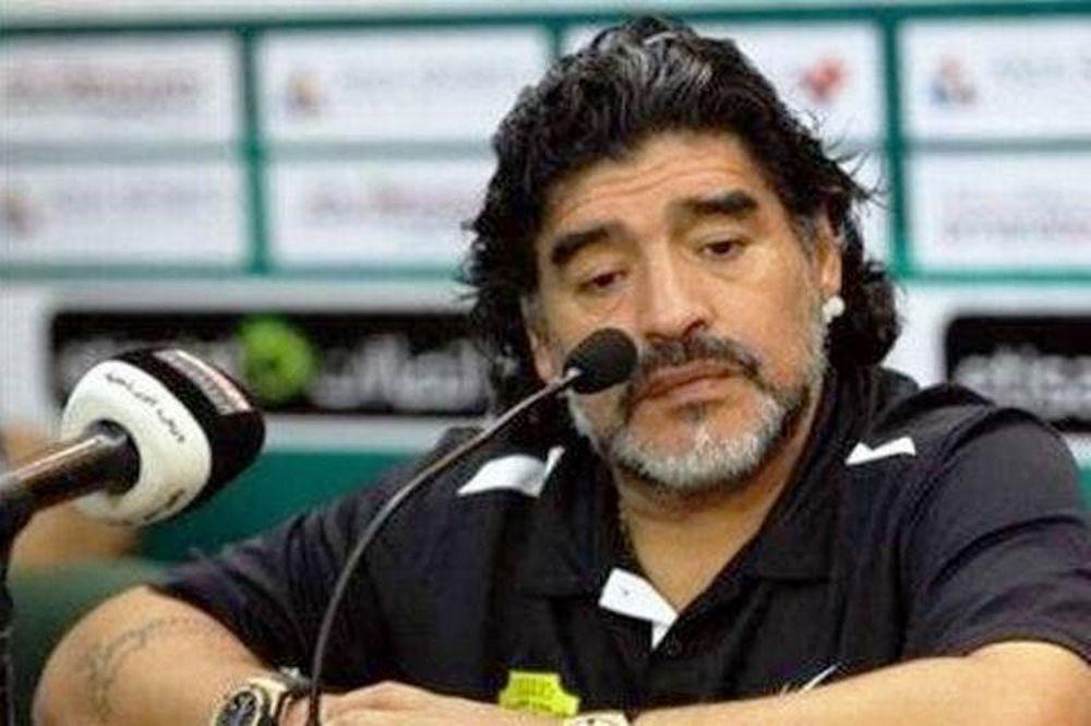 Μαραντόνα: «Το τέλος του ποδοσφαίρου»