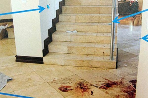 Πιστόριους: Πνιγμένο… στο αίμα το σπίτι! (photos)
