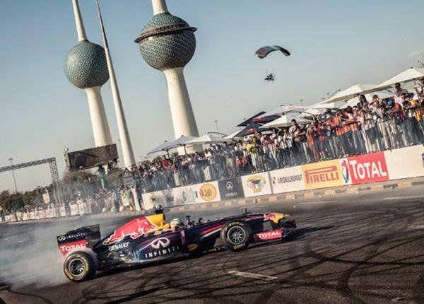 Ρεντ Μπουλ: Ο Κάρλος Σάινθ Τζούνιορ γκαζώνει στο Κουβέιτ! (video)