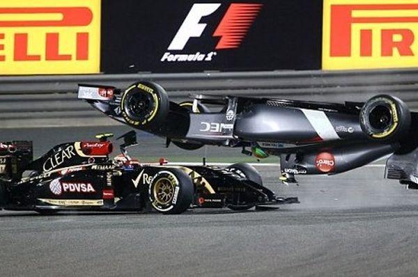 F1: Το τρακάρισμα που τον έστειλε στο νοσοκομείο (photos+videos)