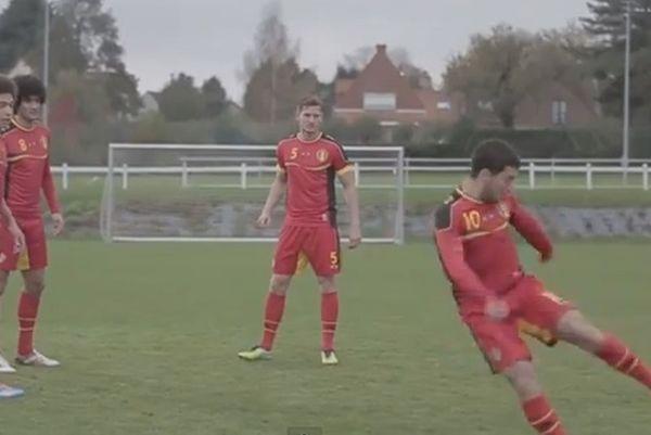 Βέλγιο: Μας πετάει την μπάλα στα... μούτρα ο Αζάρ! (video)