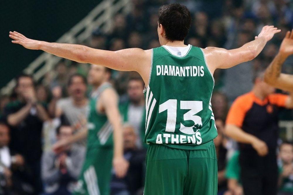 Δημήτρης Διαμαντίδης: Πέρασε Παπαλουκά, ισοφάρισε Σπανούλη (photos)
