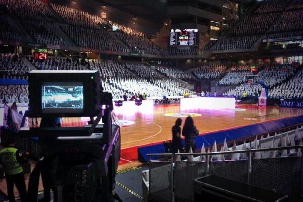 Ρεάλ Μαδρίτης: Όλα έτοιμα στο «Palacio de Deportes» (photos)