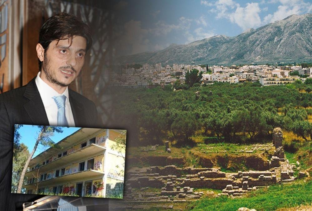 Τα μεγάλα έργα που θα αλλάξουν τη Σπάρτη... με υπογραφή Δ. Γιαννακόπουλου