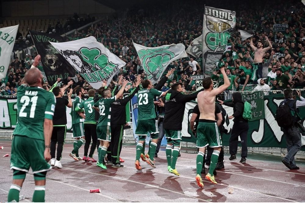 Onsports TV: Το «πράσινο» πάρτι με την κούπα (videos)