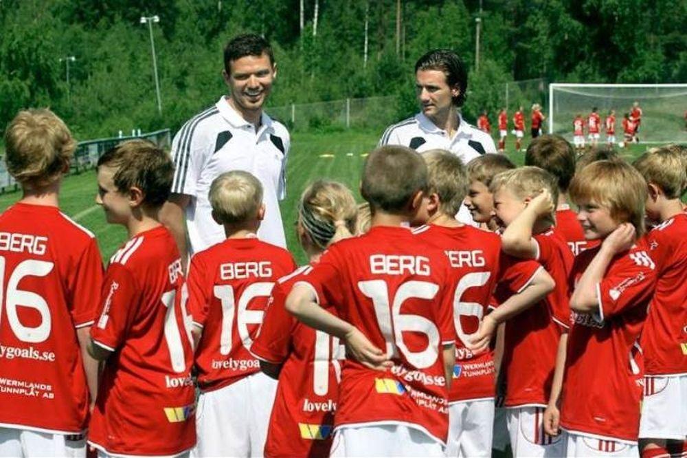 Αδερφός Μπεργκ στο Onsports: «Αυτός και ο Ιμπραΐμοβιτς!» (photos+videos)